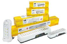 Аккумуляторные светильники ДБА IEK® — широкий ассортимент и стабильный световой поток